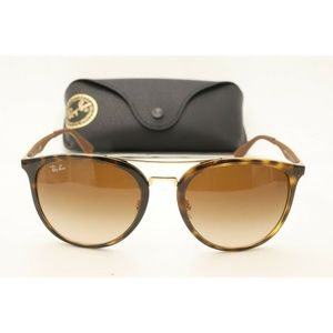 New Ray Ban RB 4285 Sunglasses 710/13 Brown 55mm